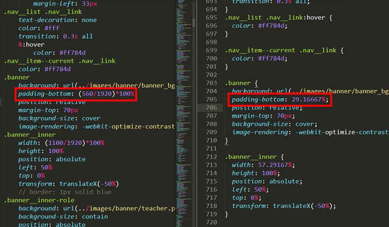 sublime寫程式畫面