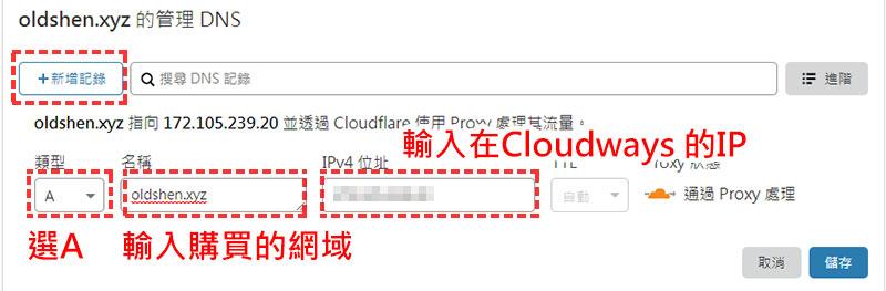 cloudflare管理DNS