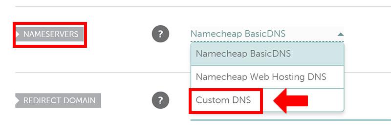設定DNS
