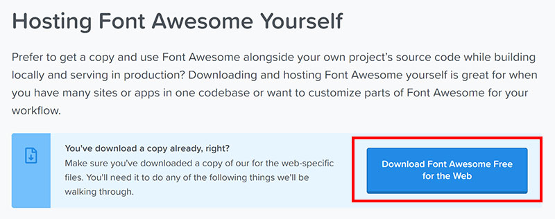 Font Awesome Download