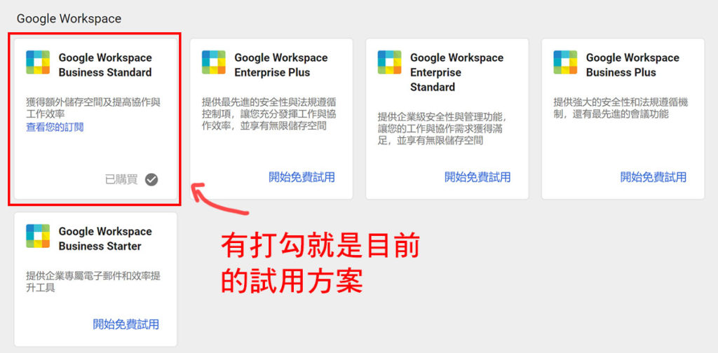 google workplace方案