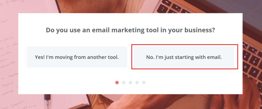 有沒有在你的事業上使用電郵行銷工具