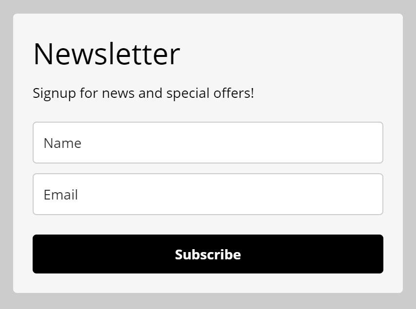mailerlite 嵌入文章中表單