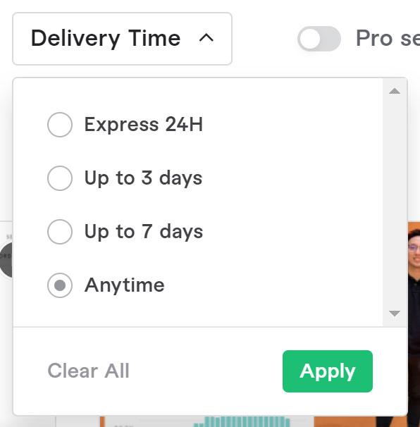 如何在 Fiverr 上尋找想要的外包服務