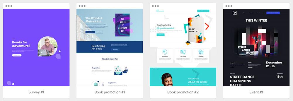 網站 & Landing Page