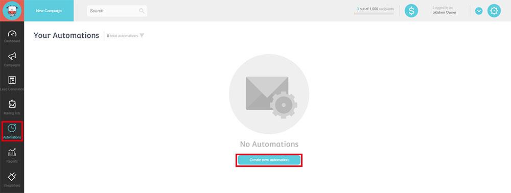 後台功能-4 : Automations 自動化行銷