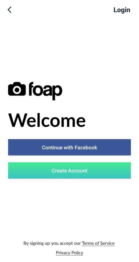 Foap註冊帳號