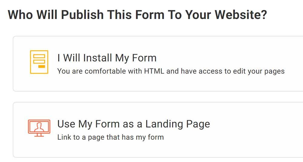 建立 Form 表單